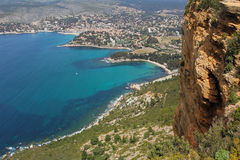 Beautiful coast of Cassis Stock Photography
