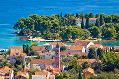 Beautiful coast of Croatia - Ugljan Stock Photo
