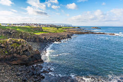 Beautiful coast in Ireland Stock Images
