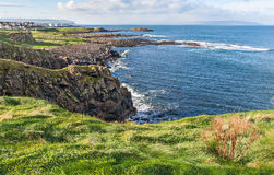 Beautiful coast in Ireland Royalty Free Stock Photo