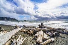 Beautiful coast line of La Push in Clallam County Washington - FORKS - WASHINGTON. Beautiful coast line of La Push in Clallam County Washington Stock Photos