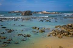 The beautiful coast line Stock Photos