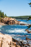 Beautiful Coast of Maine Stock Image