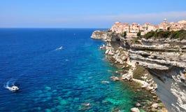 Beautiful coast mediterranean stock image