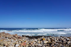 Beautiful coast near Cape point in Cape town, South Africa Royalty Free Stock Photo