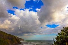 Beautiful coast stock image