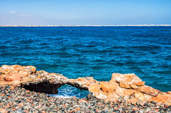 Beautiful coast on the Red Sea Stock Images