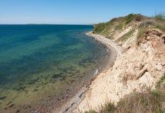 Beautiful coast seascape Denmark Stock Photo