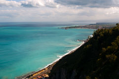 Beautiful coast of Sicily. Stock Photography