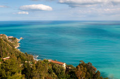 Beautiful coast of Sicily. Stock Images