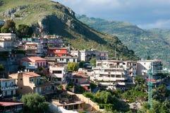 Beautiful coast of Sicily. Royalty Free Stock Image