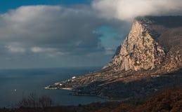 Beautiful coast of southern coast of Crimea Stock Photos