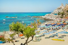 Beautiful Coast in southern Italy Royalty Free Stock Photo