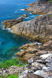 Beautiful coast and wave in Thailand Royalty Free Stock Images