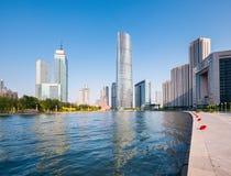 Beautiful coastal city of tianjin Stock Photography