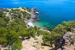Beautiful coastal landscape Stock Photo