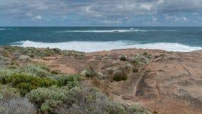Leeuwin-Naturaliste National Park, Western Australia. Beautiful coastal landscape of Cape Leeuwin, Leeuwin-Naturaliste National Park, Western Australia stock photos