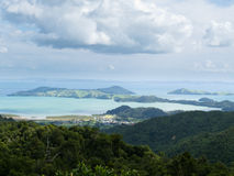 Beautiful coastal landscape, Coromandel, NZ Royalty Free Stock Images