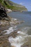 Beautiful coastal landscape in Llandudno,Wales, UK Royalty Free Stock Image