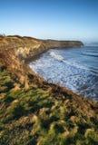 Beautiful coastal landscape at sunrise Stock Photos