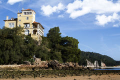 Beautiful coastal Setubal Royalty Free Stock Photos