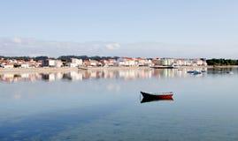 Beautiful coastal town Royalty Free Stock Image