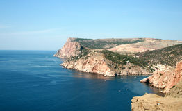 A beautiful coastline Royalty Free Stock Photos