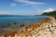 Beautiful coastline Stock Photography