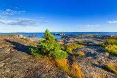 Beautiful coastline of Baltic sea. Sweden Royalty Free Stock Photography