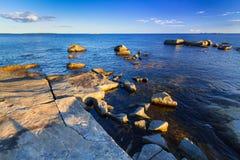 Beautiful coastline of Baltic sea. Sweden Stock Images