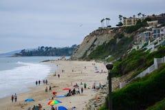 Beautiful Coastline in California Royalty Free Stock Images