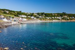 Coverack Cornwall England UK Royalty Free Stock Photography