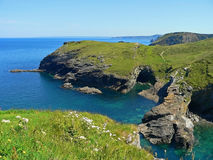 Beautiful coastline in devon, southwest england Stock Photography