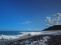Beautiful coastline of east Taiwan Stock Image