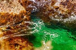 Beautiful coastline on the Great Ocean Road, Victoria - Australia Stock Photos
