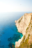 Beautiful coastline in Greece Royalty Free Stock Images