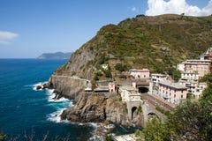 Beautiful Coastline In Cinque Beautiful Coastline In Cinque Terre, Royalty Free Stock Images