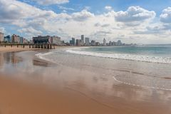 Durban, Kwazulu Natal, South Africa. The beautiful coastline of Kwazulu Natal, South Africa Royalty Free Stock Photo
