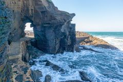 Thompsons Bay, Kwazulu Natal, South Africa. The beautiful coastline of Kwazulu Natal, South Africa Stock Photo