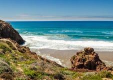 The beautiful coastline near Sidi Ifni, Morocco Royalty Free Stock Image