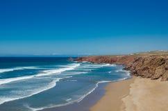The beautiful coastline near Sidi Ifni, Morocco Stock Photography