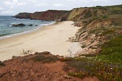 Beautiful coastline of Sagres Royalty Free Stock Photo