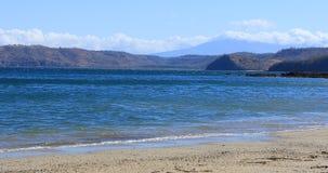 Beautiful coastline scene in Costa Rica 4K. A Beautiful coastline scene in Costa Rica 4K stock video