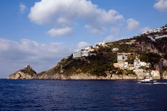 Beautiful coastline in Southern Italy Royalty Free Stock Photos