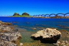 Beautiful Coastline in Taitung, Taiwan Royalty Free Stock Image
