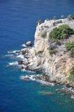 Beautiful coastline at  Thassos Stock Photo