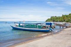 Beautiful coastline at tropical Gili Trawangan in Indonesia. Asia Stock Images