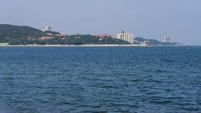 Beautiful coastline of Weihai Stock Photos