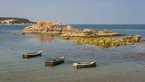 Beautiful coastline of Weihai Stock Photography