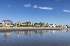 Free Beautiful Coastline With Beach In Rye, New Hampshire Stock Image - 104607011